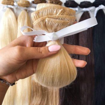 Zestaw włosów CLIP IN - 60 cm
