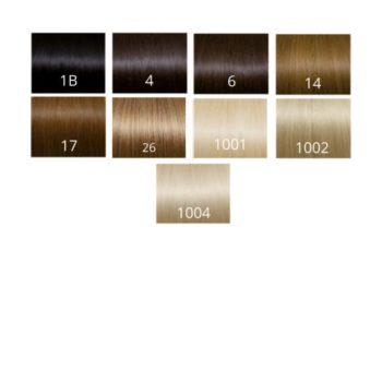 Metoda na płaskie ringi 45 cm - włosy indyjskie SEISETA