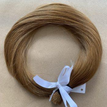 włosy słowiańskie w kitce