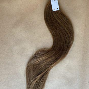 włosy dziewicze w kitce